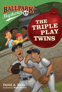 Cover Ballpark Mysteries #17: The Triple Play Twins