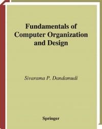 Cover Fundamentals of Computer Organization and Design