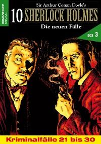 Cover 10 SHERLOCK HOLMES – Die neuen Fälle Box 3