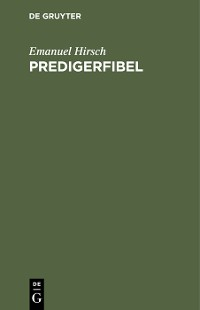 Cover Predigerfibel