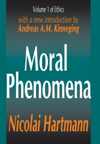 Cover Moral Phenomena