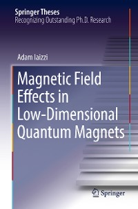 Cover Magnetic Field Effects in Low-Dimensional Quantum Magnets