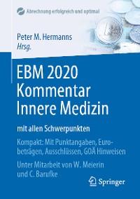 Cover EBM 2020 Kommentar Innere Medizin mit allen Schwerpunkten