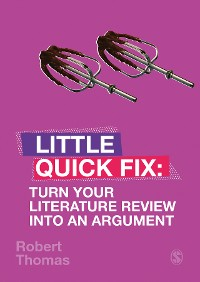 Cover Turn Your Literature Review Into An Argument