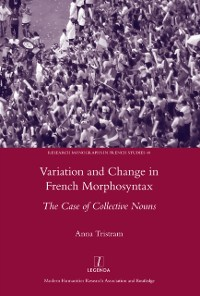 Cover Variation and Change in French Morphosyntax