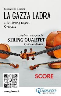 Cover La Gazza Ladra (overture) String Quartet - Score