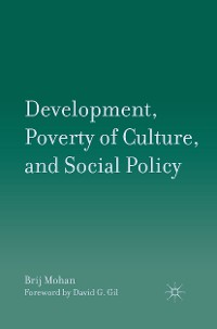 Cover Development, Poverty of Culture, and Social Policy