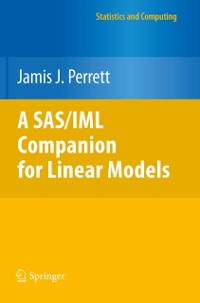 Cover SAS/IML Companion for Linear Models