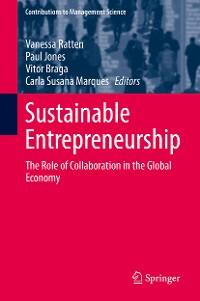 Cover Sustainable Entrepreneurship