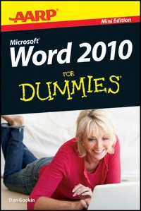 Cover AARP Word 2010 For Dummies, Mini Edition