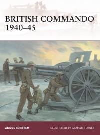 Cover British Commando 1940 45