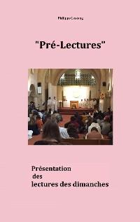 Cover Pré-lectures