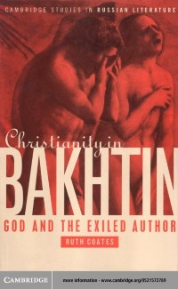 Cover Christianity in Bakhtin