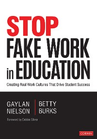 Cover Stop Fake Work in Education