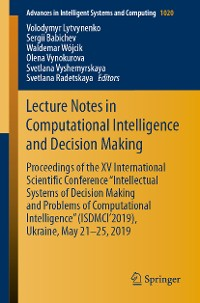 Cover Lecture Notes in Computational Intelligence and Decision Making
