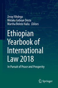 Cover Ethiopian Yearbook of International Law 2018