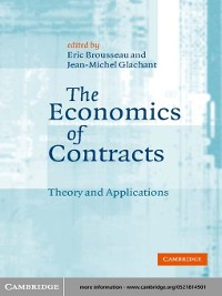 Cover The Economics of Contracts