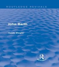 Cover John Barth (Routledge Revivals)