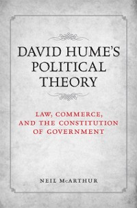 Cover David Hume's Political Theory