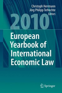 Cover European Yearbook of International Economic Law 2010