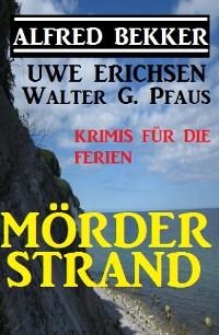 Cover Mörderstrand - Krimis für die Ferien
