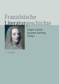 Cover Französische Literaturgeschichte