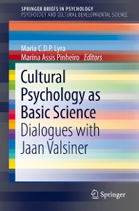 Cover Cultural Psychology as Basic Science