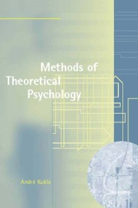 Cover Methods of Theoretical Psychology