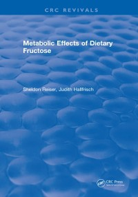 Cover Metabolic Effects Of Dietary Fructose