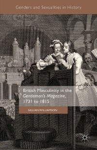 Cover British Masculinity in the 'Gentleman's Magazine', 1731 to 1815