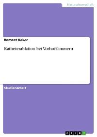 Cover Katheterablation bei Vorhofflimmern