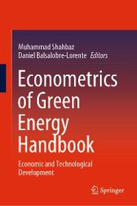 Cover Econometrics of Green Energy Handbook