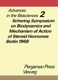 Cover Schering Symposium on Biodynamics and Mechanism of Action of Steroid Hormones, Berlin, March 14 to 16, 1968