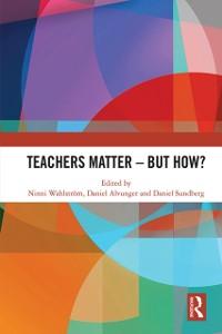 Cover Teachers Matter - But How?