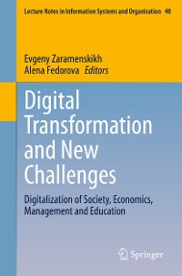 Cover Digital Transformation and New Challenges