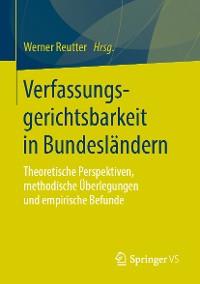 Cover Verfassungsgerichtsbarkeit in Bundesländern