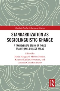 Cover Standardization as Sociolinguistic Change