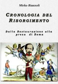 Cover Cronologia del Risorgimento 1815-1870