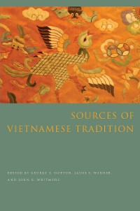 Cover Sources of Vietnamese Tradition