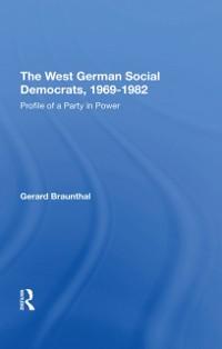 Cover West German Social Democrats, 1969-1982