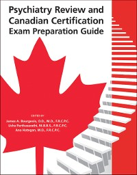 Cover Psychiatry Review and Canadian Certification Exam Preparation Guide