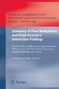 Cover Summary of Flow Modulation and Fluid-Structure Interaction Findings