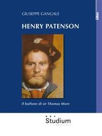Cover Henry Patenson