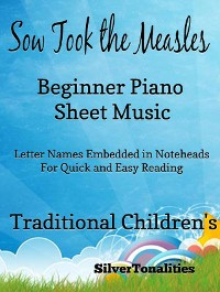 Cover Sow Took the Measles Beginner Piano Sheet Music Tadpole Edition