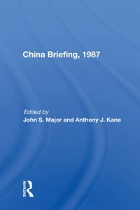 Cover China Briefing, 1987