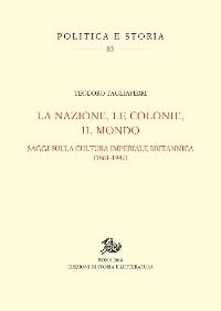 Cover La nazione, le colonie, il mondo