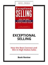 Cover Exceptional Selling