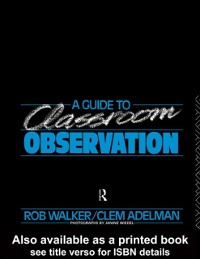 Cover Guide to Classroom Observation