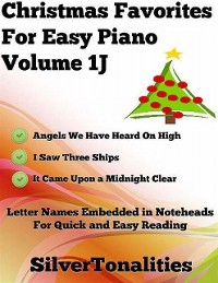 Cover Christmas Favorites for Easy Piano Volume 1 J