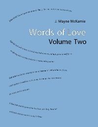 Cover Words of Love Volume Two